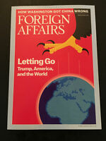 K) New Foreign Affairs How DC Got China Wrong March/April 2018 Magazine