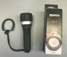Brand-new Mares EOS 3 Diving torch. 7.000 LUX. Black/Silver.