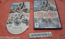 CIVILIZATION 3 III CONQUESTS SID MEIER'S MAC PC DVD-ROM PAL FR