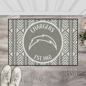 """Los Angeles Chargers Southern Style Starter Mat 19"""" x 30"""" NFL FANMATS"""