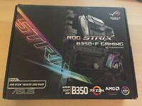 Asus ROG STRIX B350-F Gaming AMD Socket AM4 DDR4 ATX AURA Ryzen PC Motherboard