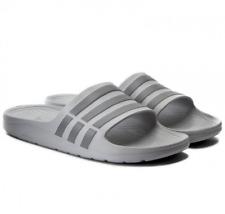 ac9559fbd5e7 Mens adidas Duramo Slide Soccer Style Sandals in Gray Size 8