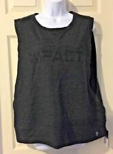Jillian Michaels Impact Beyond The Gym Asphalt Heather Muscle Shirt Size Xxlarge