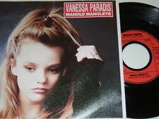 "7"" - Vanessa Paradis Manolo Manolete & you you - 1987 Kaku MINT # 4844"