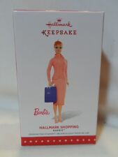 2015 Hallmark Keepsake Ornament Hallmark Shopping Barbie B26