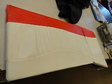 "TAHOE 2007 Q7SFI SUNDECK CUSHION 709088.2 RED / IVORY 61 1/2"" X 25 3/4"" BOAT"