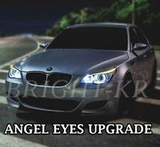 BMW 5 SERIES E60 E61 PRE-LCI ANGEL EYE RING LIGHT LED Cool White Bulbs CANBUS