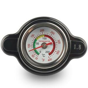 High Pressure Radiator Cap with Temperature Gauge, 1.8 Bar Radiator Cap 25. T4J3
