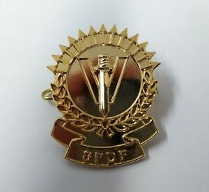 Seychelles SPDF Insignia Hat / Cap Badge - NEW