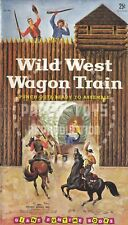 Vintage Reprint - Wild West Wagon Train Punch-Out Book - Reproduction