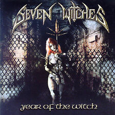 SEVEN WITCHES Year Of The Witch CD: METALIUM,JAMES RIVERA,HELSTAR,VICIOUS RUMORS