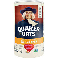 Quaker Oats, Old Fashioned Oatmeal, 42 oz Canister