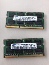 Memoria Ram 4 Gb (2x2Gb) Samsung 2Rx8 PC3 8500S
