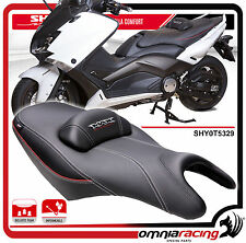Shad Sella Confort Nera con Cuciture Rosse per Yamaha T-Max 500/530 2008/2015