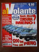 AL VOLANTE n°6 2006  Saab 9.3 Citroen C2 Chevrolet Nubira SW 1.8  [P71]