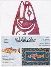Wild Alaska Salmon, Quilts with a Twist, Laser Cut Fusible Appliqué Kit