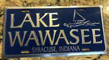 LAKE WAWASEE-SYRACUSE INDIANA, vanity license plate
