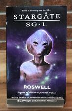 Stargate Sg-1 : Rosewell Sonny Whitelaw & Jennifer Fallon Paperback Book #9