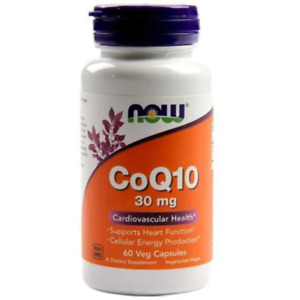 NOW Foods CoQ10 60mg 60 caps