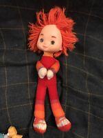 Vintage Rainbow Brite Red Butler Toy 1983 Hallmark Cards Mattel