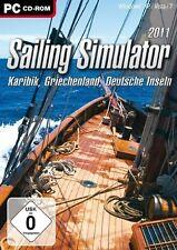 PC Computer Spiel Sailing Simulator 2011 * Segeln Simulation Yacht Boot See Meer