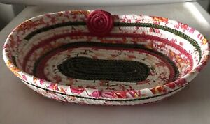 Fabric Rope Basket or Bowl