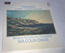 DEBUSSY La Mer-Trois Nocturnes SIR COLIN DAVIS Sealed LP Philips 6514 260