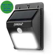 OUTDOOR LIGHT LED Motion Detector Solar Power Security Exterior Lighting Sensing