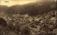 Stempel und Postkarte TRIBERG Schwarzwald AK 1910 Panaorma Bedarfspostkarte