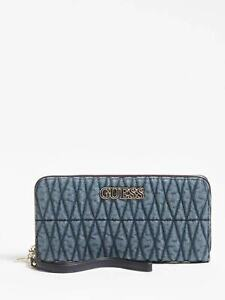 Brinkley SLG Zip Around Wristlet Quilted Wallet New With Box NWT VG787146
