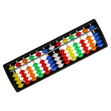 13 Rods Abacus with Colorful Beads Soroban Count Number Teaching Kids Toy