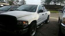 white dodge ram truck