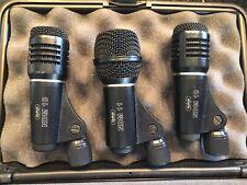 CAD 3 Drum Mic Kit (2) NDM 10 (1) NDM 11   Case Included   (3) Total Microphones