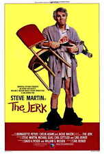 THE JERK Movie POSTER 27x40 B Carl Gottlieb Steve Martin Bernadette Peters
