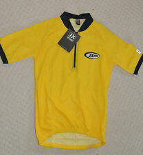 Nuevo JX Jeantex Premium chicos s Bikewear Camiseta de ciclismo amarillo ~ tamaño XXS ~ BNWT