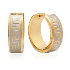 0e3da069a Gold Fashion Hoop Earrings for sale | eBay