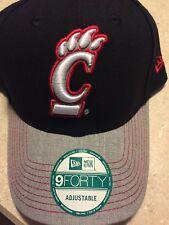 new concept 1315e 6e7fe Cincinnati Bearcats NCAA New Era 9Forty Adjustable Hat