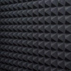 Pannello Fonoassorbente Piramidale 6 cm D25 100 X 100 Grigio Antracite