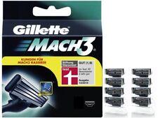 8 Gillette Mach3 Rasierklingen Neu & Original 4 12 16