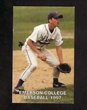 Emerson Lions--1997 Baseball Pocket Schedule