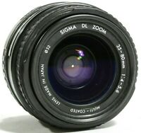 Sigma AF 35-80mm F4-5.6 Zoom Lens Sony / Minolta A Mount UK Fast Post