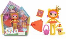 """Mini Lalaloopsy Kitty B Brave 3"""" Doll Wizard of OZ Lion Pet #3 of Series 11 NEW"""