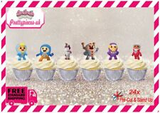 Go Jetters 24 Stand-Up Pre-Cut Wafer Paper Cup cake Toppers