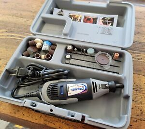 Dremel MultiPro Model 395 Type 5 Variable Speed Rotary Tool Kit W/ Bits ☆ CLEAN!