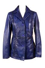Manteaux et vestes blazer en cuir pour femme