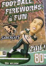 Bobble Head San Jose Saber Cats BEN NELSON Bobblehead AFL Arena League Football