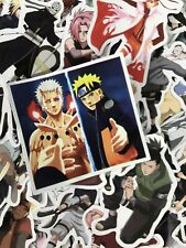 50 Lot Naruto Characters Random Notebook Laptop Table Phone Decal Sticker Set