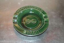 Aschenbecher Handelsgold 16,2cm Zigarrenascher Keramik grün *7 70er selten *NEU*