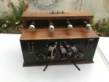RADIO TSF 4 LAMPES EXTÉRIEURE L.BERGER vers 1920