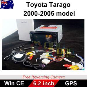 "6.2"" Car DVD GPS 2 din Head Unit Stereo For toyota Tarago 2000-2005 Model"